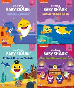 Nelson Mini-Bücher: Baby Shark 1-4