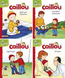 Nelson Mini-Bücher: Caillou 17-20