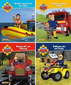 Nelson Mini-Bücher: Feuerwehrmann Sam 13-16