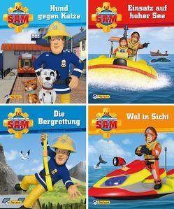 Nelson Mini-Bücher: Feuerwehrmann Sam 5-8