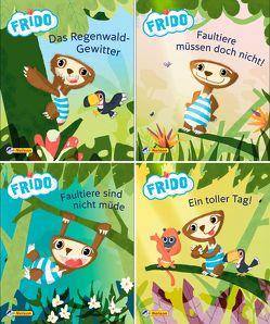 Nelson Mini-Bücher: Frido Faultier 1-4
