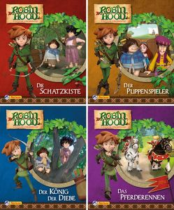 Nelson Mini-Bücher: Robin Hood 1-4
