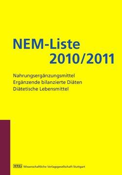 NEM-Liste 2010/2011 von May-Manke,  Antje, Saur,  Ralph, Scholz,  Eberhard