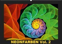Neonfarben Vol. 2 / CH-Version (Wandkalender 2019 DIN A2 quer) von Art,  gabiw