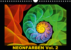 Neonfarben Vol. 2 / CH-Version (Wandkalender 2020 DIN A4 quer) von Art,  gabiw