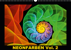 Neonfarben Vol. 2 / CH-Version (Wandkalender 2021 DIN A3 quer) von Art,  gabiw