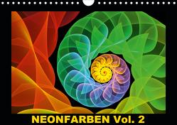Neonfarben Vol. 2 / CH-Version (Wandkalender 2021 DIN A4 quer) von Art,  gabiw