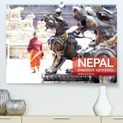 NEPAL Bhaktapur Kathmandu (Premium, hochwertiger DIN A2 Wandkalender 2021, Kunstdruck in Hochglanz) von Maertens,  Bernd