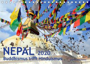 Nepal – Buddhismus trifft Hinduismus (Tischkalender 2020 DIN A5 quer) von Gerner-Haudum,  Gabriele