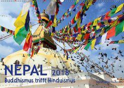 Nepal – Buddhismus trifft Hinduismus (Wandkalender 2018 DIN A2 quer) von Gerner-Haudum,  Gabriele