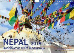 Nepal – Buddhismus trifft Hinduismus (Wandkalender 2019 DIN A4 quer) von Gerner-Haudum,  Gabriele