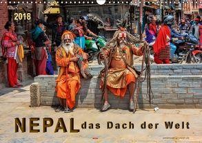 Nepal – das Dach der Welt (Wandkalender 2018 DIN A3 quer) von Roder,  Peter