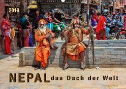 Nepal – das Dach der Welt (Wandkalender 2019 DIN A2 quer)