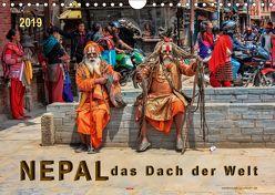 Nepal – das Dach der Welt (Wandkalender 2019 DIN A4 quer) von Roder,  Peter