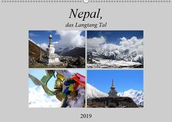 Nepal, das Langtang Tal (Wandkalender 2019 DIN A2 quer) von Albicker,  Gerhard