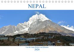 NEPAL, von der Salpa-Region zum Khumbu (Tischkalender 2020 DIN A5 quer) von Senff,  Ulrich