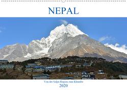 NEPAL, von der Salpa-Region zum Khumbu (Wandkalender 2020 DIN A2 quer) von Senff,  Ulrich