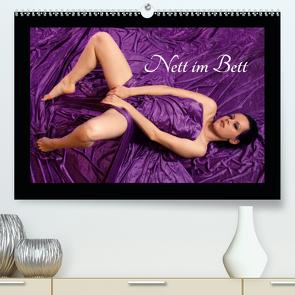 Nett im Bett (Premium, hochwertiger DIN A2 Wandkalender 2020, Kunstdruck in Hochglanz) von Weis,  Stefan