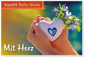Nette Worte – Mit Herz