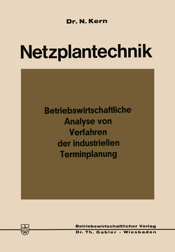 Netzplantechnik von Kern,  Nikolaus