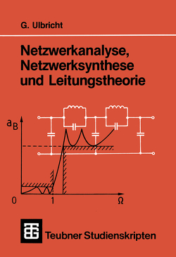Netzwerkanalyse, Netzwerksynthese und Leitungstheorie von Ulbricht,  Gerhard