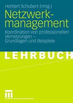 Netzwerkmanagement von Schubert,  Herbert