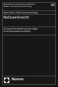 Netzwerkrecht von Eifert,  Martin, Gostomzyk,  Tobias