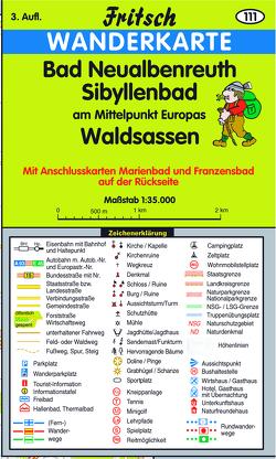 Neualbenreuth – Sibyllenbad – Waldsassen von Fritsch Landkartenverlag