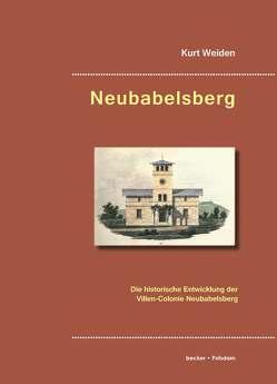 Neubabelsberg von Weiden,  Kurt