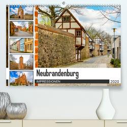 Neubrandenburg Impressionen (Premium, hochwertiger DIN A2 Wandkalender 2020, Kunstdruck in Hochglanz) von Meutzner,  Dirk