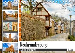 Neubrandenburg Impressionen (Tischkalender 2020 DIN A5 quer) von Meutzner,  Dirk