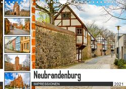 Neubrandenburg Impressionen (Wandkalender 2021 DIN A4 quer) von Meutzner,  Dirk