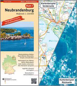 Neubrandenburg von BKG - Bundesamt für Kartographie und Geodäsie