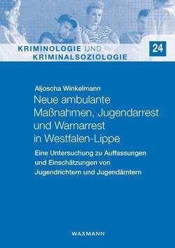 Neue ambulante Maßnahmen, Jugendarrest und Warnarrest in Westfalen-Lippe von Winkelmann,  Aljoscha