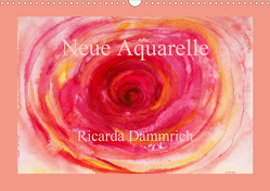 Neue Aquarelle (Wandkalender 2021 DIN A3 quer) von Dämmrich,  Ricarda