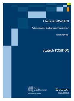 Neue autoMobilität von acatech,  .