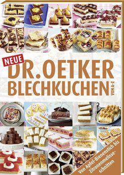 Neue Blechkuchen von A – Z von Dr. Oetker