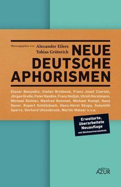 Neue deutsche Aphorismen von Eilers,  Alexander, Grüterich,  Tobias