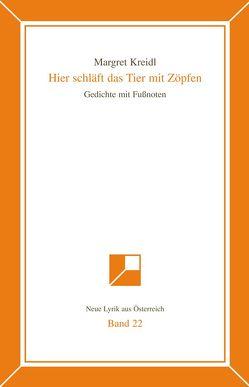 Neue Lyrik aus Österreich Band 22 von Kreidl,  Margret