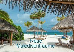 Neue Malediventräume (Wandkalender 2019 DIN A2 quer) von Blome,  Dietmar