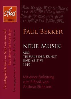 Neue Musik (E-Book) von Bekker,  Paul