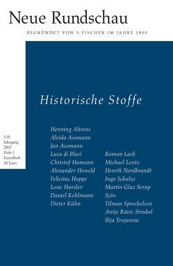 Neue Rundschau 2007/1 von Balmes,  Hans-Jürgen, Bong,  Jörg, Roesler,  Alexander, Vogel,  Oliver
