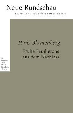 Neue Rundschau 2018/4 von Balmes,  Hans-Jürgen, Bong,  Jörg, Roesler,  Alexander, Vogel,  Oliver