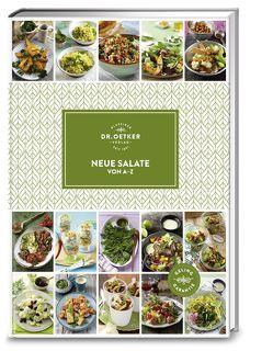 Neue Salate von A-Z von Dr. Oetker