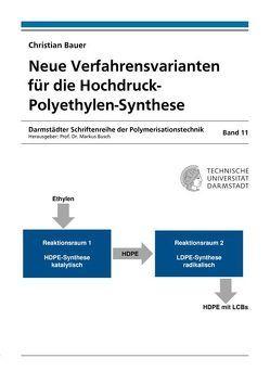 Neue Verfahrensvarianten für die Hochdruck-Polyethylen-Synthese von Bauer,  Christian