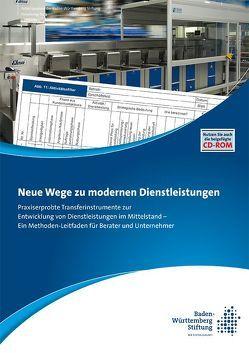 Neue Wege zu modernen Dienstleistungen von Myritz,  Reinhard