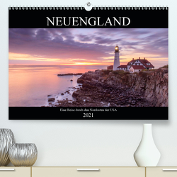 NEUENGLAND – Eine Reise durch den Nordosten der USA (Premium, hochwertiger DIN A2 Wandkalender 2021, Kunstdruck in Hochglanz) von Büchler & Martin Büchler,  Christine