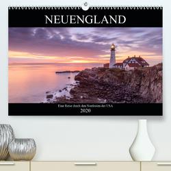 NEUENGLAND – Eine Reise durch den Nordosten der USA (Premium, hochwertiger DIN A2 Wandkalender 2020, Kunstdruck in Hochglanz) von Büchler & Martin Büchler,  Christine