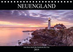 NEUENGLAND – Eine Reise durch den Nordosten der USA (Tischkalender 2019 DIN A5 quer) von Büchler & Martin Büchler,  Christine