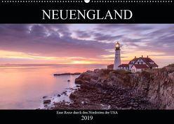 NEUENGLAND – Eine Reise durch den Nordosten der USA (Wandkalender 2019 DIN A2 quer) von Büchler & Martin Büchler,  Christine